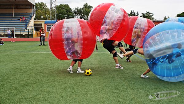 bubble football alicante