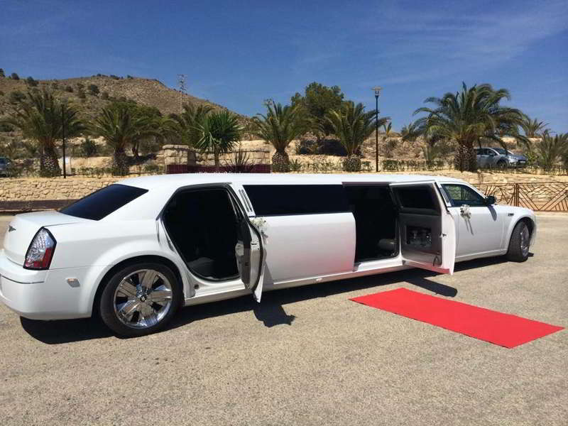 Hummer H2 rosa en Alicante
