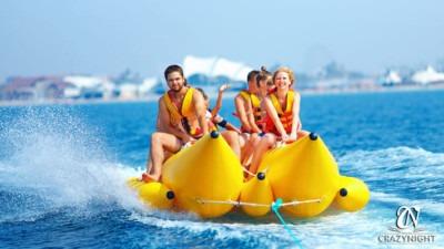 Banana Boat y otras actividades acuáticas en Alicante