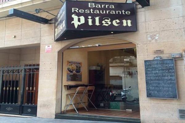 Fachada del restaurante Pilsen